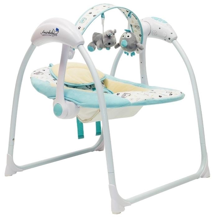 Amarobaby Swinging Baby - автоматическое укачивание (1режим и 5скоростей)