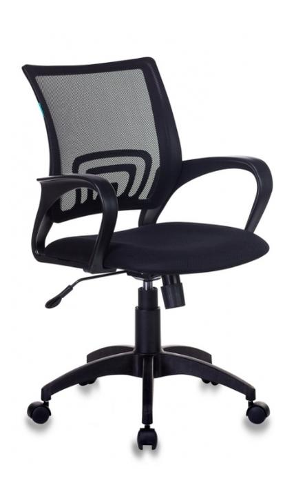 Бюрократ CH-695N офисное - Особенности: механизм качания, спинка из сетки