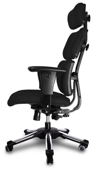 Hara Chair Doctor офисное - Конструкция:  подголовник, подлокотники, колеса (ролики)