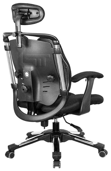 Hara Chair Nietzsche офисное - Конструкция:  подголовник, подлокотники, колеса (ролики)