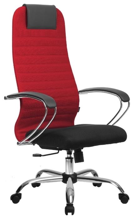 Метта BK-10 Ch офисное - Высота кресла: от 118до 130см