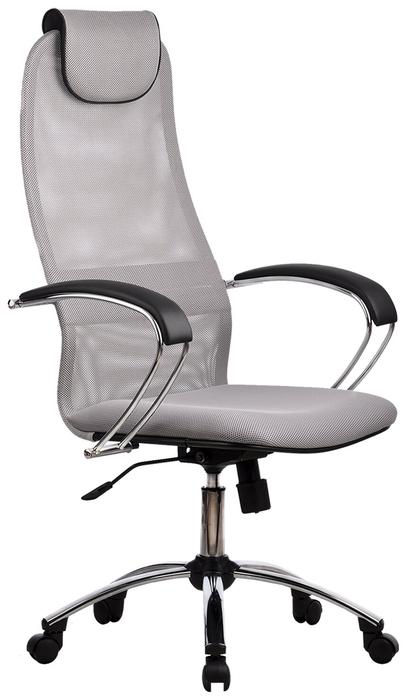 Метта BK-8 Ch офисное - Особенности: механизм качания, спинка из сетки, поясничный упор