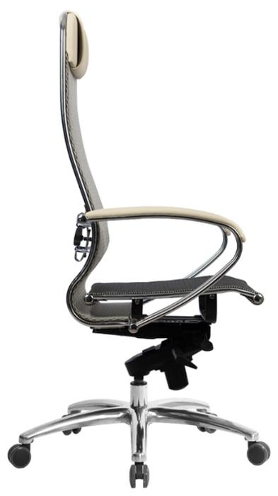 Метта SAMURAI S-1 офисное - Высота кресла: от 120до 132см