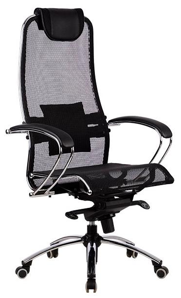 Метта SAMURAI S-1 офисное - Ширина сиденья: 54см