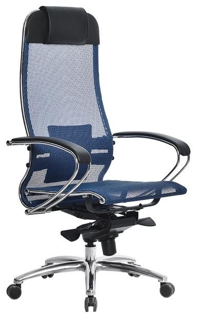 Метта SAMURAI S-1 офисное - Особенности: механизм качания, спинка из сетки, поясничный упор
