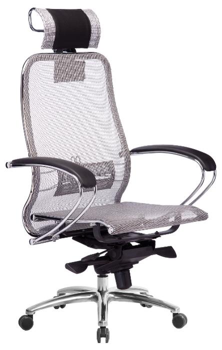 Метта SAMURAI S-2 офисное - Высота кресла: от 123до 131см