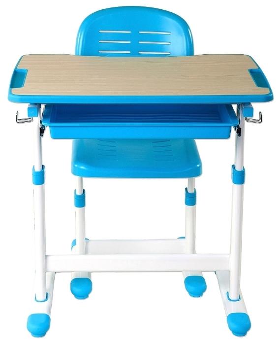 FUNDESK растущая детская парта и стул Piccolino - рост ребенка: 100-170см