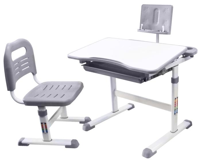 RIFFORMA стул + стол + подставка для книг SET-17 - с регулировкой высоты стола (52-74см)