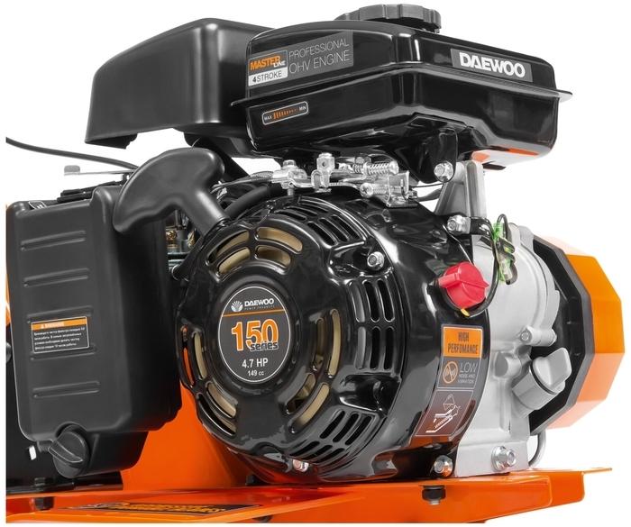 Daewoo Power Products DAT 5055R 4.7 л.с. - глубина культивирования 26см