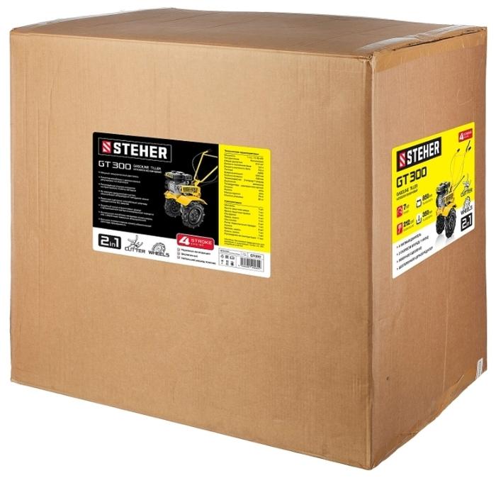 Steher GT-300 7 л.с. - оснастка: фрезы, сошник