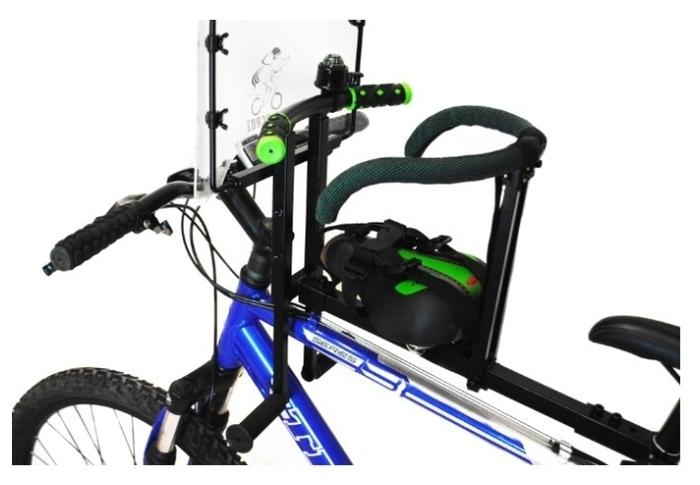 Velogruz велокресло - установка на подседельную трубу