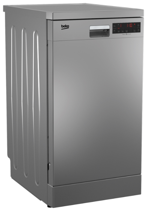 Beko DFS 25W11 S - вместимость: 10комплектов