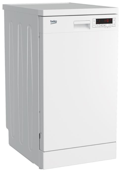 Beko DFS 25W11 W - вместимость: 10комплектов