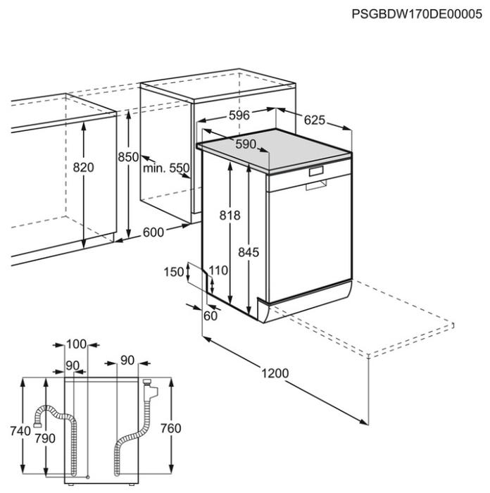 Electrolux ESF 9526 LOX - сушка: конденсационная, класс A