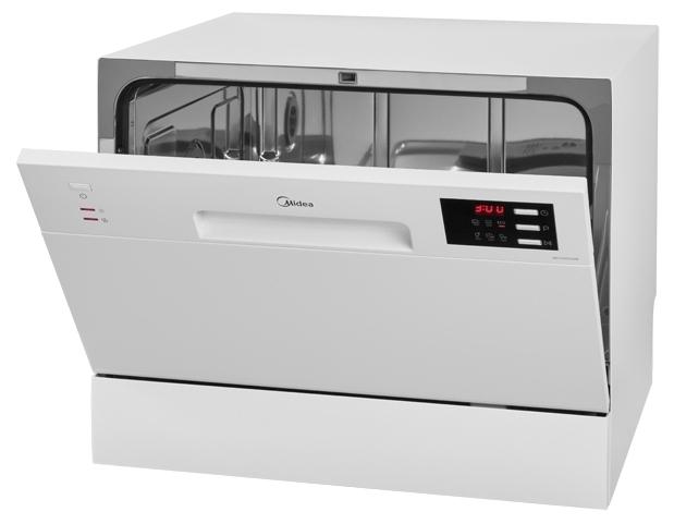 Midea MCFD-55320W - вместимость: 6комплектов