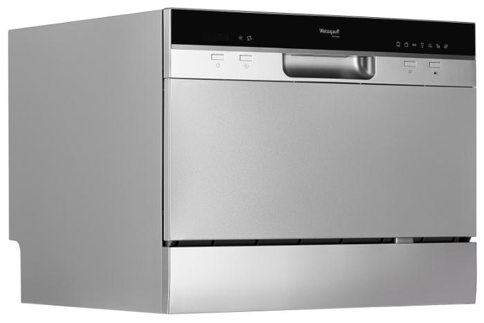 Weissgauff TDW 4017 DS - вместимость: 6комплектов