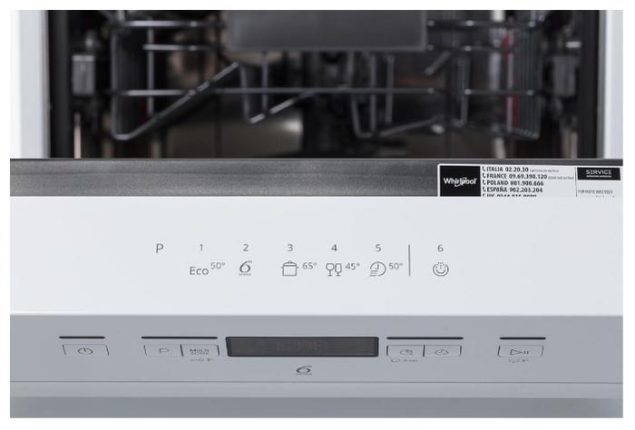 Whirlpool WSFC 3M17 - вместимость: 10комплектов