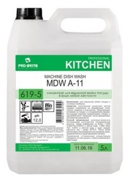 Pro-Brite MDW A-11 - назначение: мытье посуды, защита от накипи, мытье в холодной воде, мытье стекла, мытье нержавеющей стали