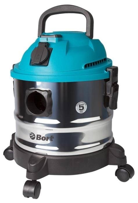 Bort BSS-1015, 1250 Вт - сухая и влажная уборка