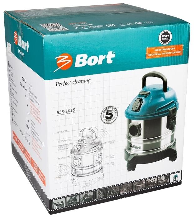 Bort BSS-1015, 1250 Вт - диаметр шланга 35мм