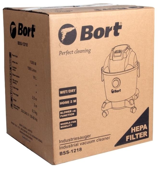 Bort BSS-1218, 1200 Вт - длина кабеля питания 4м
