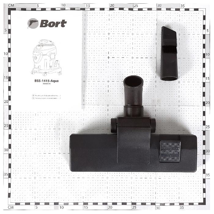 Bort BSS-1415-Aqua, 1400 Вт - работа на выдув
