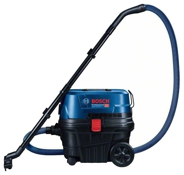 BOSCH GAS 12-25 PL, 1250 Вт - пылесборник 21л