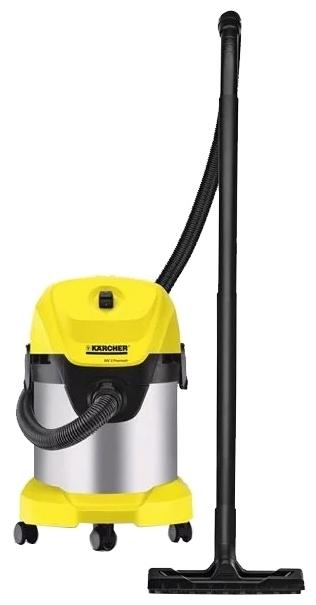 KARCHER WD 3 P Premium, 1000 Вт - пылесборник 17л