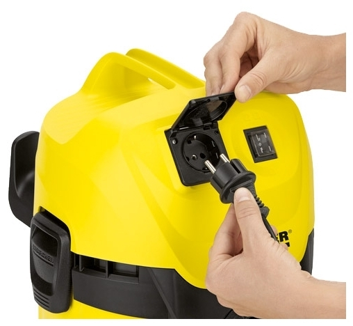 KARCHER WD 3 P Premium, 1000 Вт - диаметр шланга 35мм