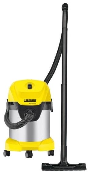 KARCHER WD 3 Premium, 1000 Вт - сухая и влажная уборка
