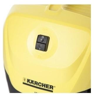 KARCHER WD 3 Premium, 1000 Вт - длина кабеля питания 4м