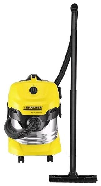 KARCHER WD 4 Premium, 1000 Вт - сухая и влажная уборка