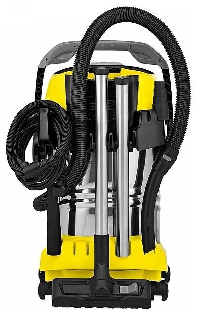 KARCHER WD 6 P Premium, 1300 Вт - регулировка мощности