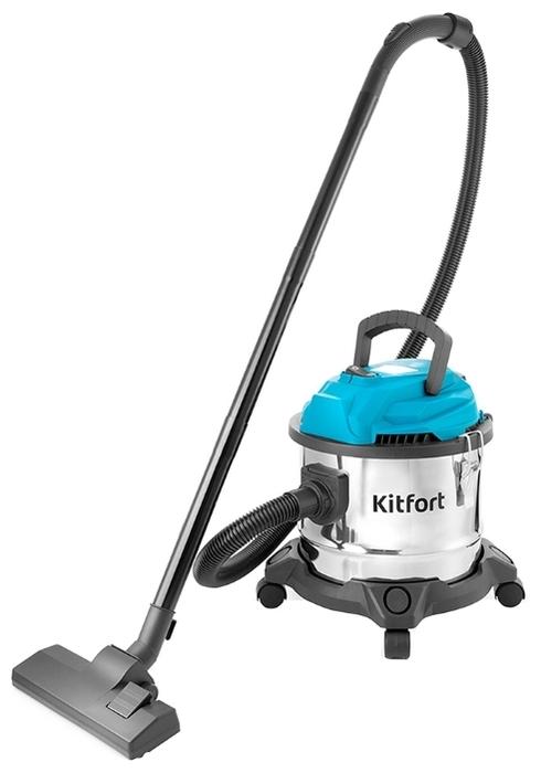 Kitfort KT-547, 1000 Вт - сухая и влажная уборка