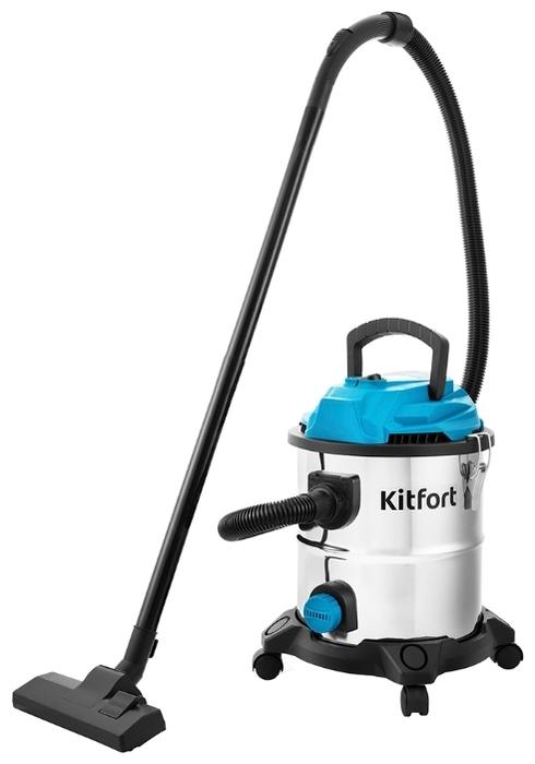 Kitfort KT-548, 1000 Вт - сухая и влажная уборка