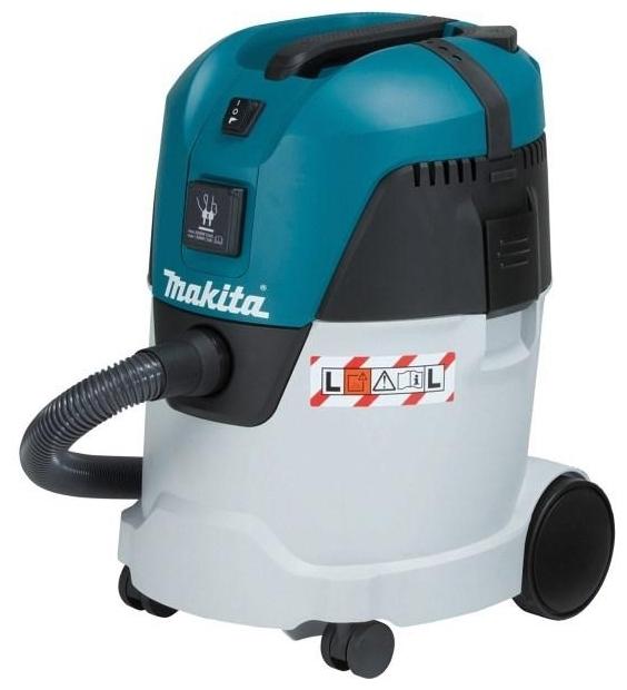 Makita VC2512L, 1000 Вт - сухая и влажная уборка