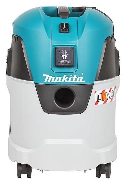 Makita VC2512L, 1000 Вт - расход воздуха 60л/с