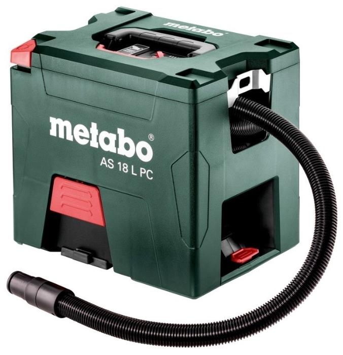 Metabo AS 18 L PC (602021000) - сухая уборка