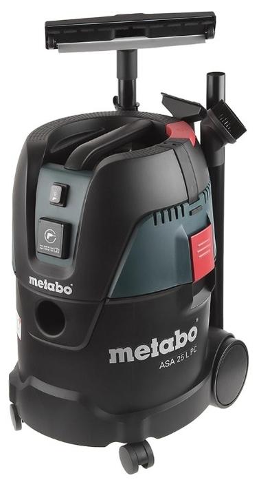 Metabo ASA 25 L PC, 1250 Вт - пылесборник 25л