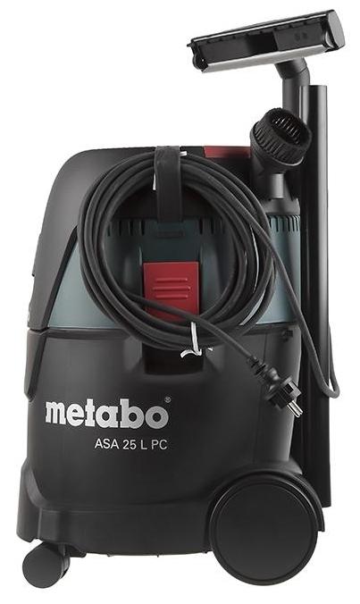 Metabo ASA 25 L PC, 1250 Вт - мощность 1250Вт