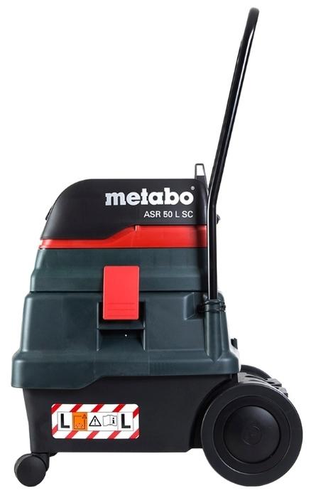 Metabo ASR 50 L SC, 1400 Вт - пылесборник 50л