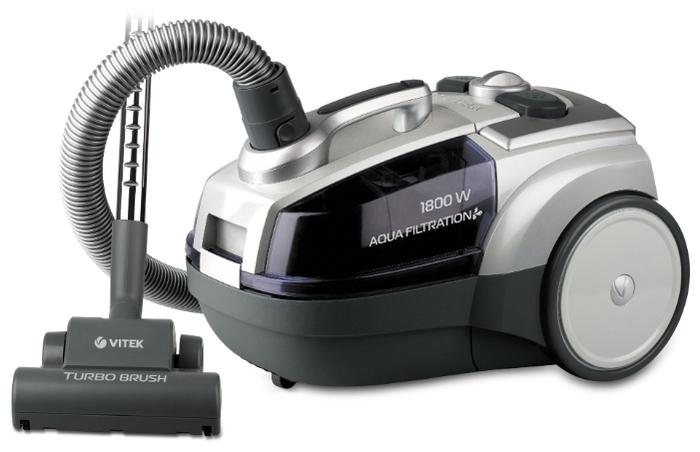 VITEK VT-1833 - мощность всасывания: 400Вт