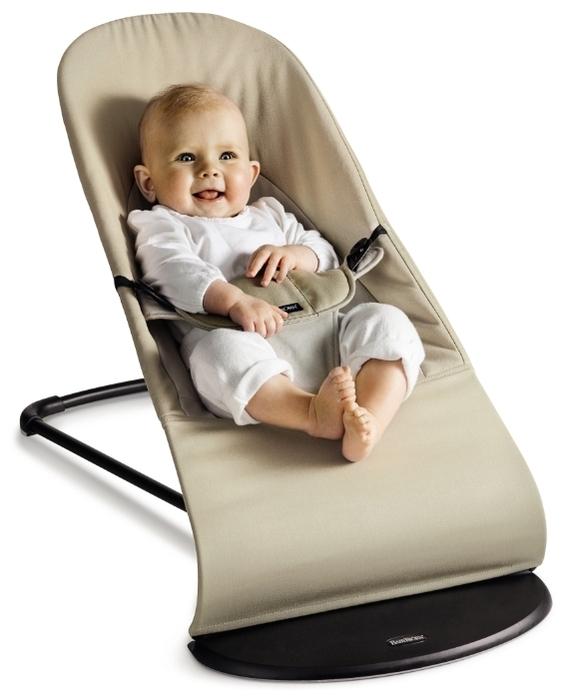 BabyBjorn Balance Soft (хлопок) - ручное укачивание