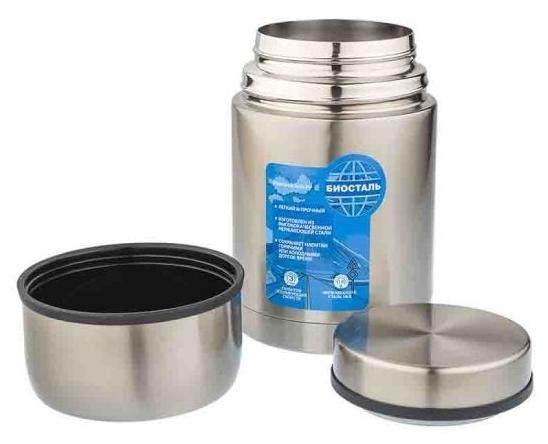 Biostal NRP-600, 0.6 л - материал колбы: сталь