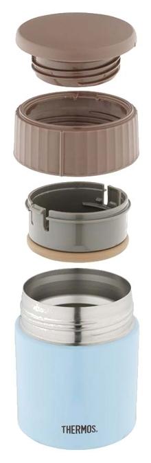 Thermos JBQ-400, 0.4 л - материал колбы: сталь
