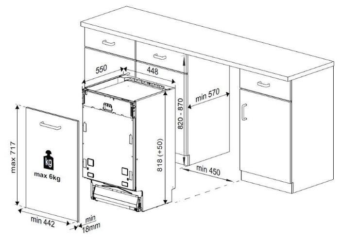 Beko DIS 25010 - вместимость: 10комплектов