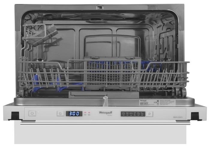 Weissgauff BDW 4106 D - мойка: 6программ, класс A