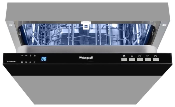 Weissgauff BDW 4134 D - вместимость: 10комплектов