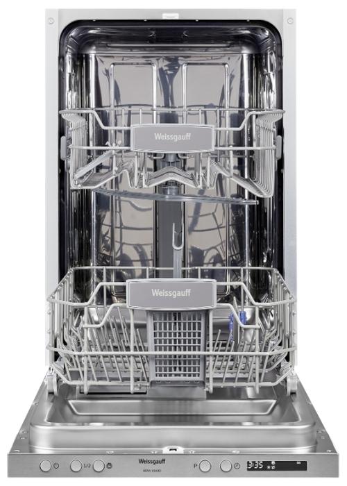 Weissgauff BDW 4543 D - вместимость: 9комплектов