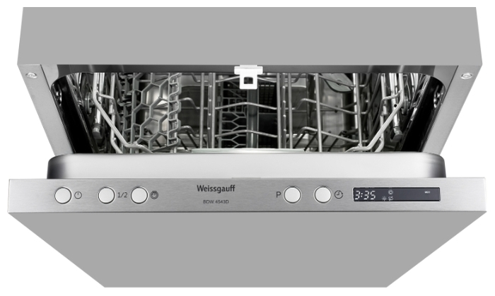 Weissgauff BDW 4543 D - расход воды: 9л